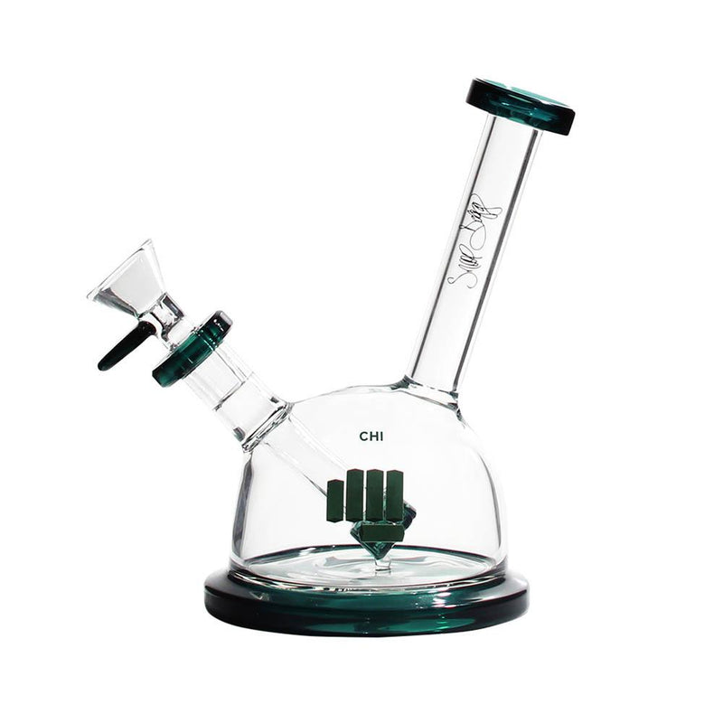 chi chicago water pipe bong snoop dogg pounds teal