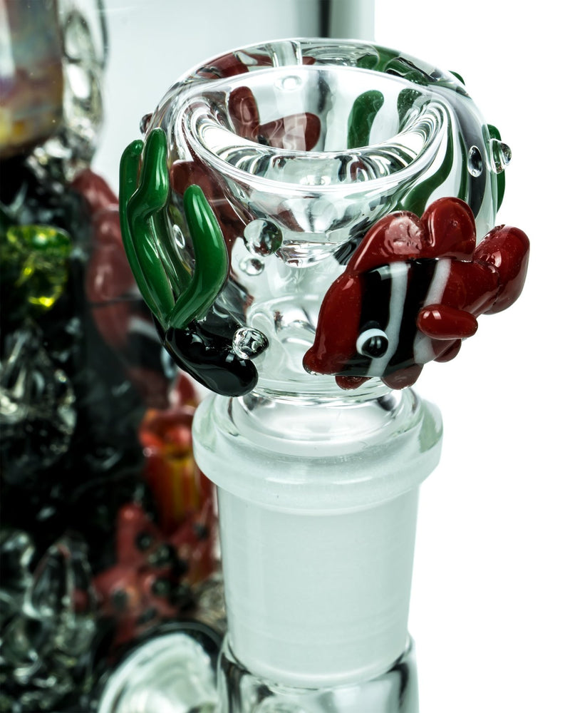 empire glassworks coral reef ecosystem bong bowl