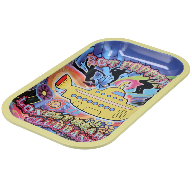Fab 4 Yellow Submarine - Rolling Tray
