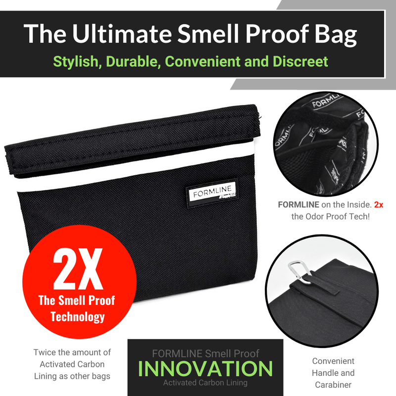 "Smell Proof Bag - Small (7"" x 6"")"