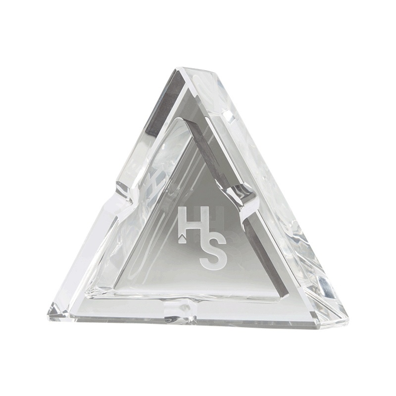 higher standards crystal ashtray premium