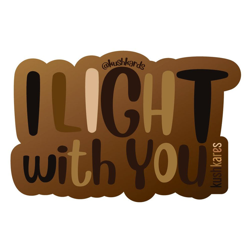Stickers - I Light With You