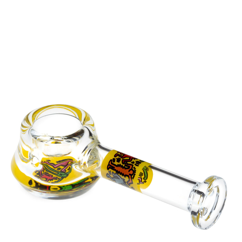 keith haring spoon pipe yellow