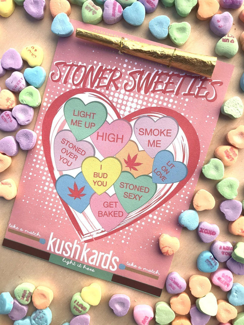 KushKards Stoner Sweeties Valentine's Day Card