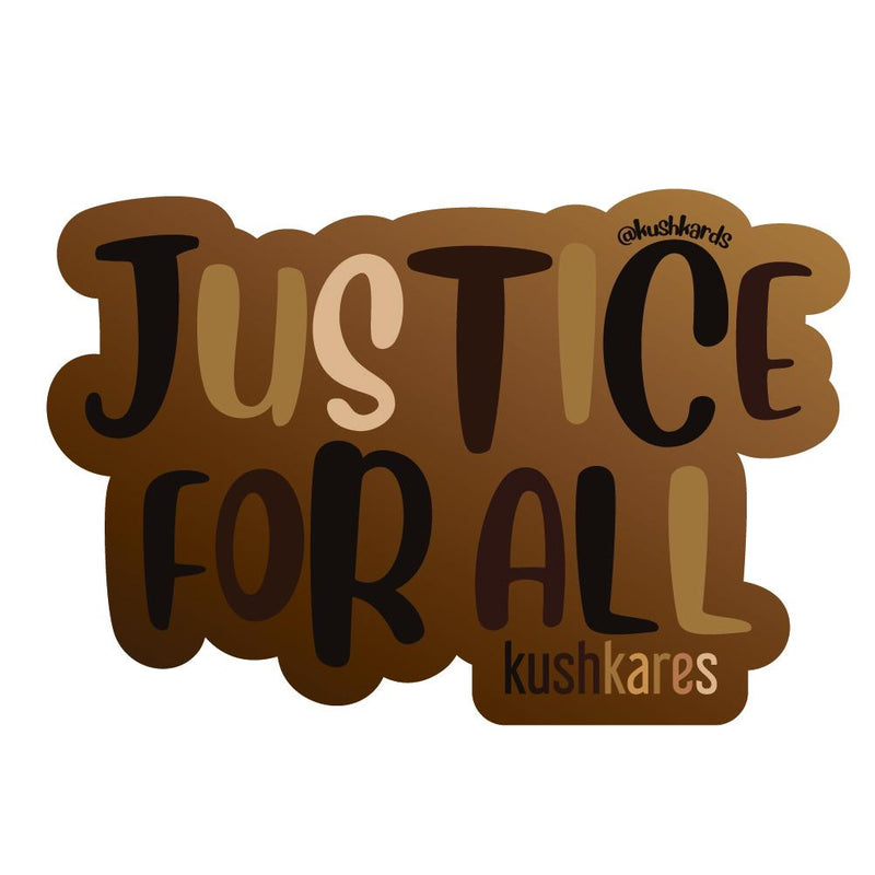 Stickers - Justice For All