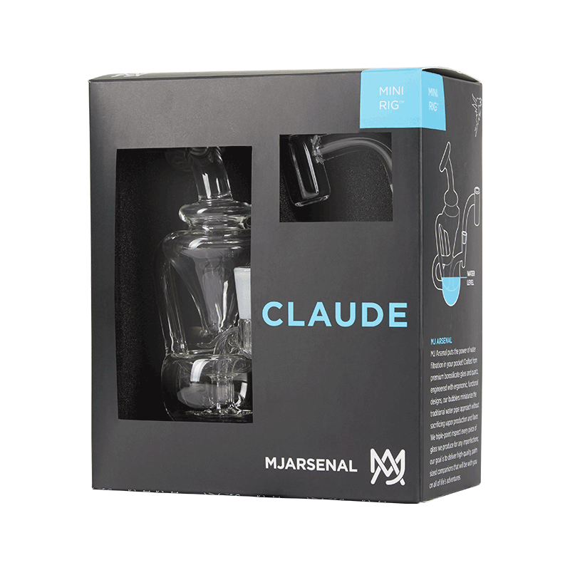 mj arsenal claude mini dab rig box