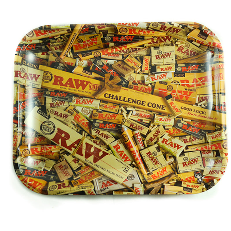 raw rolling tray paper design large