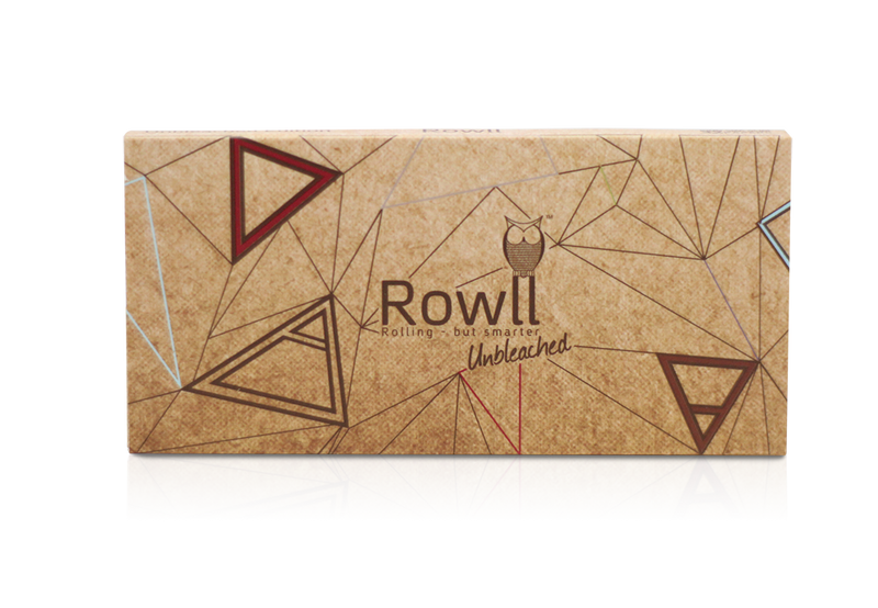 rowll king size weed rolling papers natural unbleached
