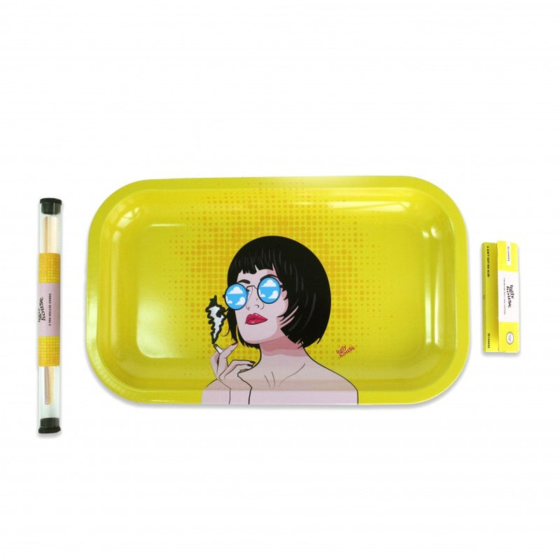 ugly house pop art rolling paper tray bundle