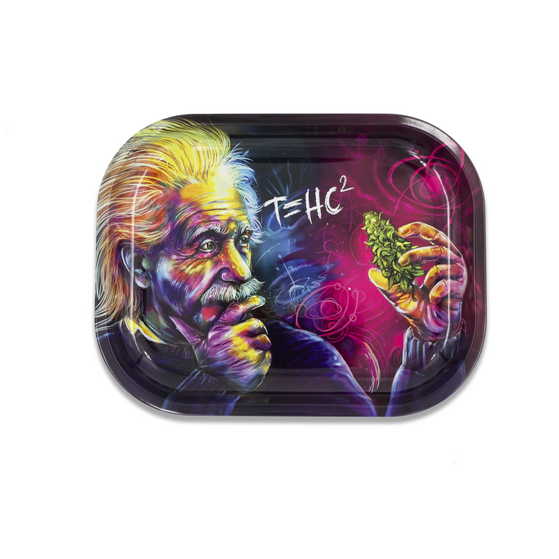 v syndicate metal rolling tray einstein small
