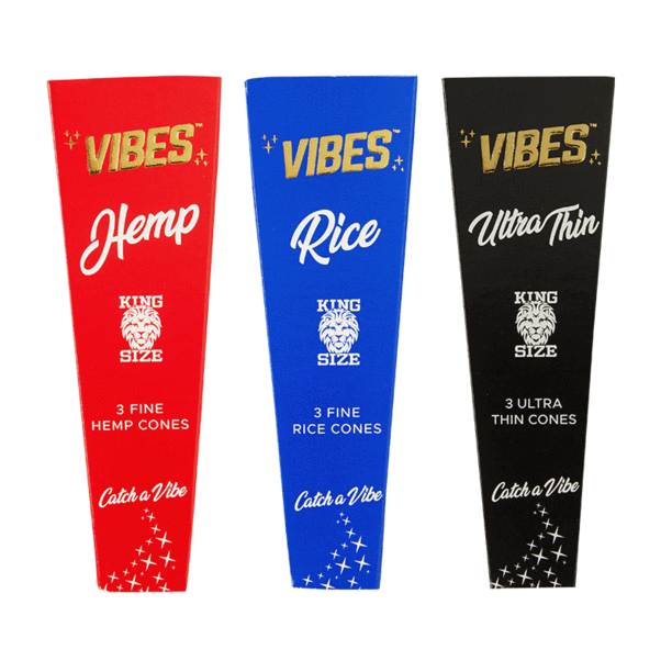 vibes cones king size