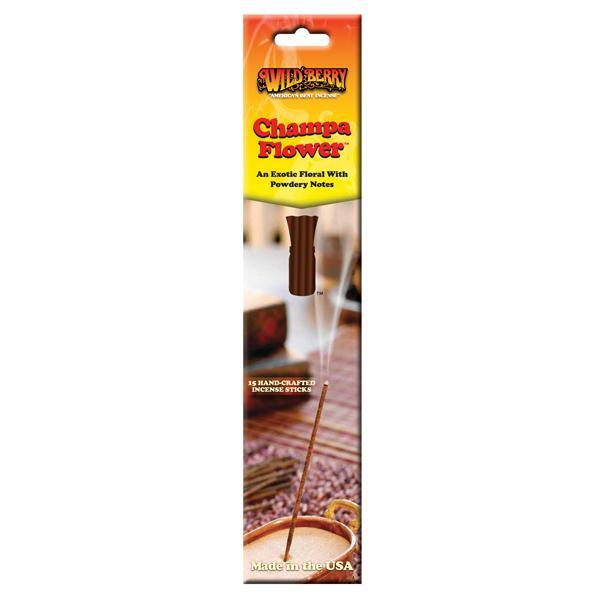 Champa Flower - Incense Sticks - 15 Count