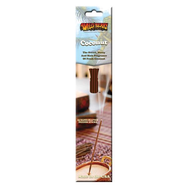 Coconut - Incense Sticks - 15 Count