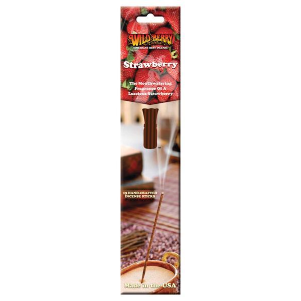 Strawberry - Incense Sticks - 15 Count