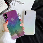 Gradient Water Drop Case For iPhone