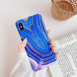 Vintage Art Marble Case For iPhone