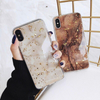 Luxury Gold Marble Case For iPhone