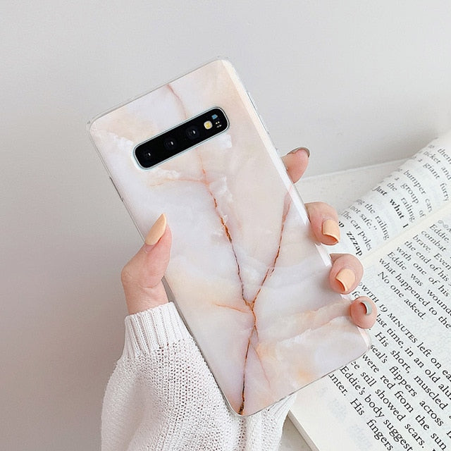Vintage Marble Case For Samsung