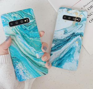 Classical Marble Case For Samsung