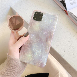 Crystal Marble Case For iPhone