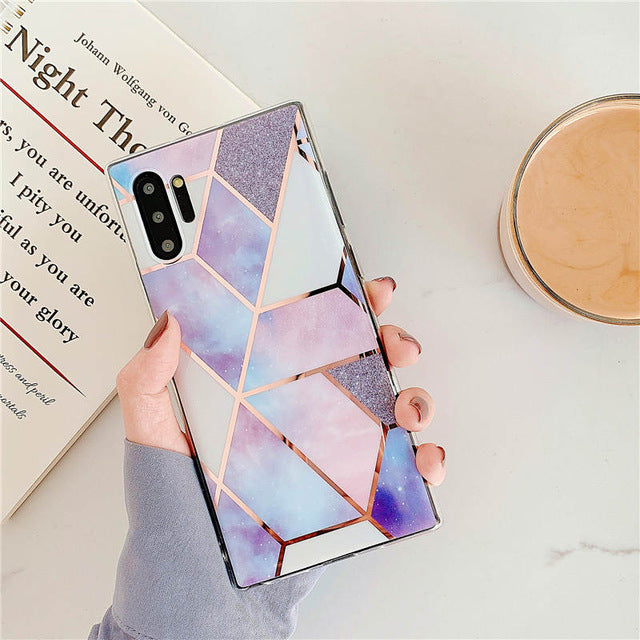 Marble Phone Case For Samsung