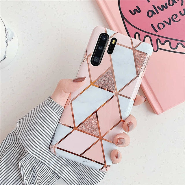 Plating Phone Cases For Huawei