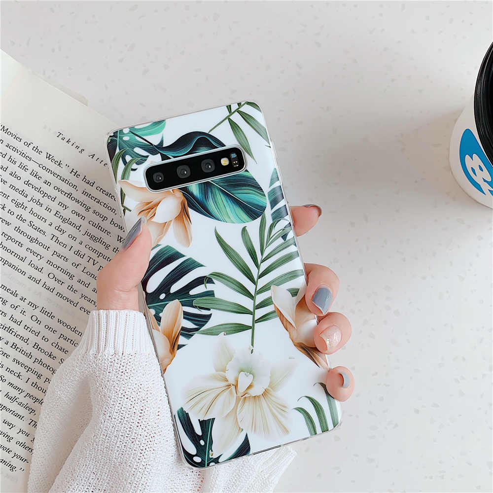 Luxury Flower Phone Cases For Samsung