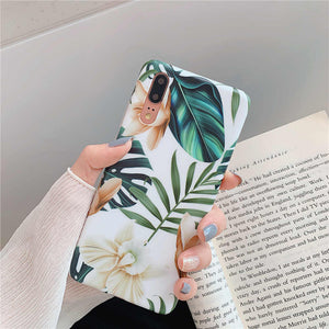 Luxury Flower Case For Huawei