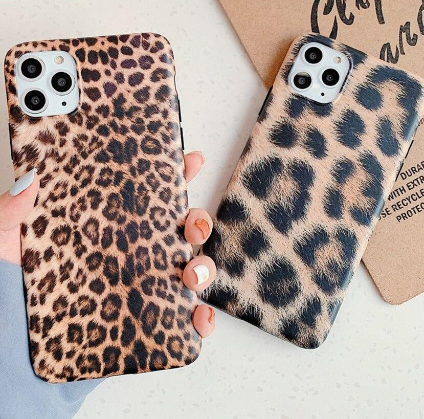 Luxury leopard spot Case For iPhone