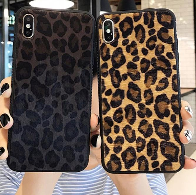 Luxury Leopard Print Case For iPhone