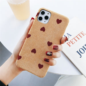 Cloth Texture Case For iPhone