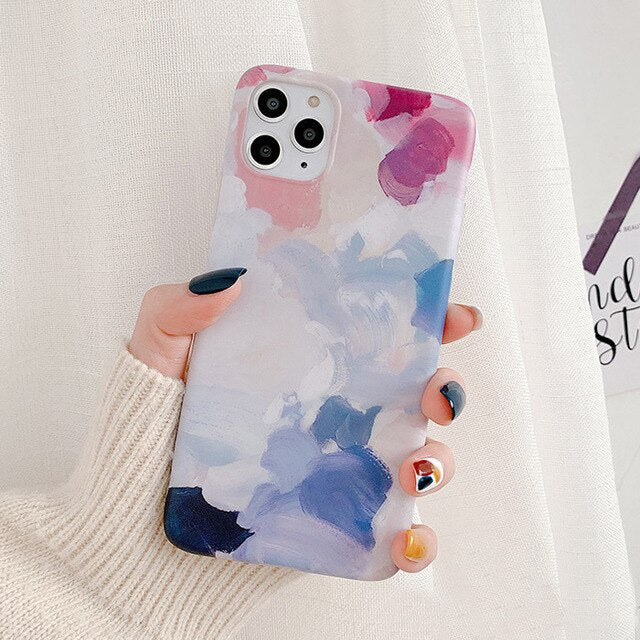Graffiti Watercolor painting Case for iPhone