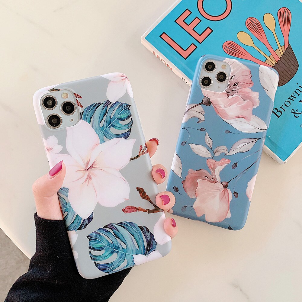 Cute flowers Case For iPhone