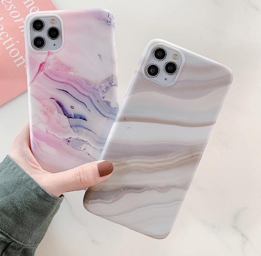 Granite Marble Case For iPhone