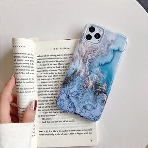 Artistic Marble Case For iPhone