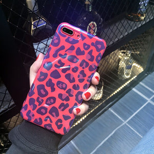 Leopard Print Case For iPhone