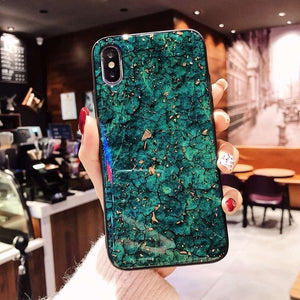 Shining Gold oil Marble Soft Case For Samsung Galaxy S20 Ultra S10E s8 Plus s9 S7 edge Cover J3 J5 J7 2017 J8 2018 J4 note 9 4 5