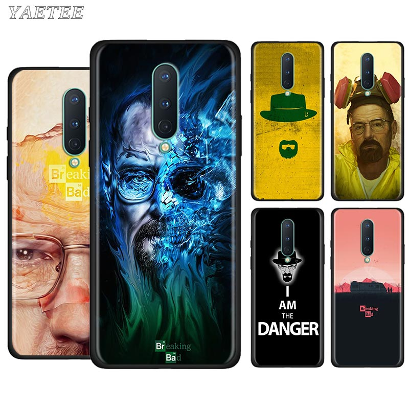 Phone Case for Oneplus Nord 7 8 Pro 7T 8T Pro 7 7t 5G Soft Cover Breaking Bad Black TPU Cases Cover Shell Fundas Capa Bag Cell