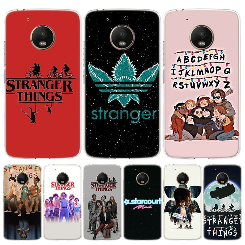 Hot stranger things 3 Cover Phone Case For Motorola Moto G8 G7 G6 G5S G5 E6 E5 E4 Plus G4 Play EU One Action X4 Pattern Coque