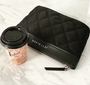 The Bondi Quilted Clutch Pouch Zip Case