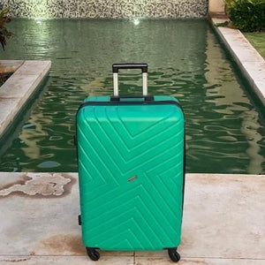 "Emerald Maze Series 28"" Large Suitcase"