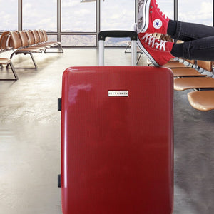 "Carbon Red Series 28"" Large Suitcase"