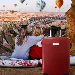 Carbon Red Series Carry On Small Suitcase