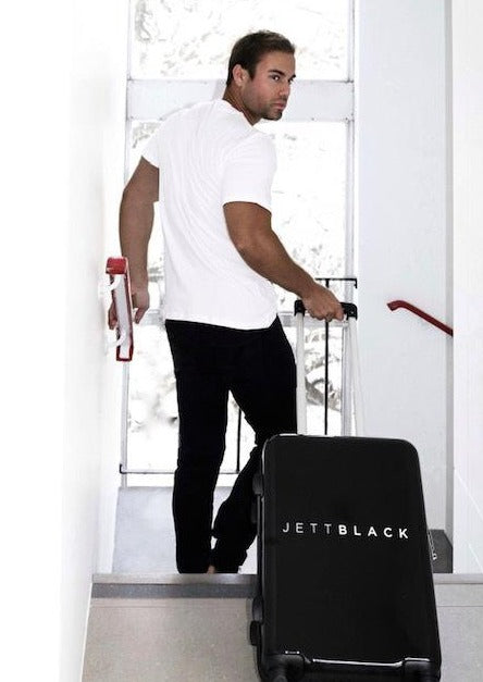 Jett Black Signature Carry On Small Suitcase