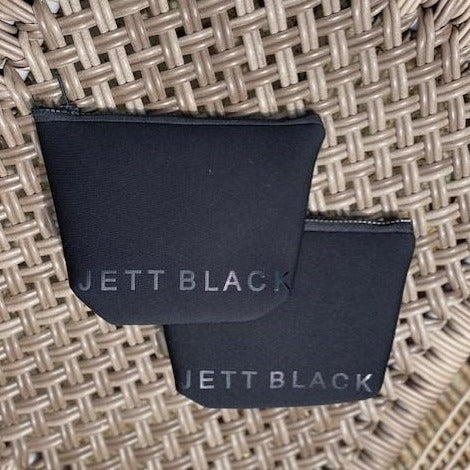 Jett Black Neoprene Travel Cases - 2 Pack
