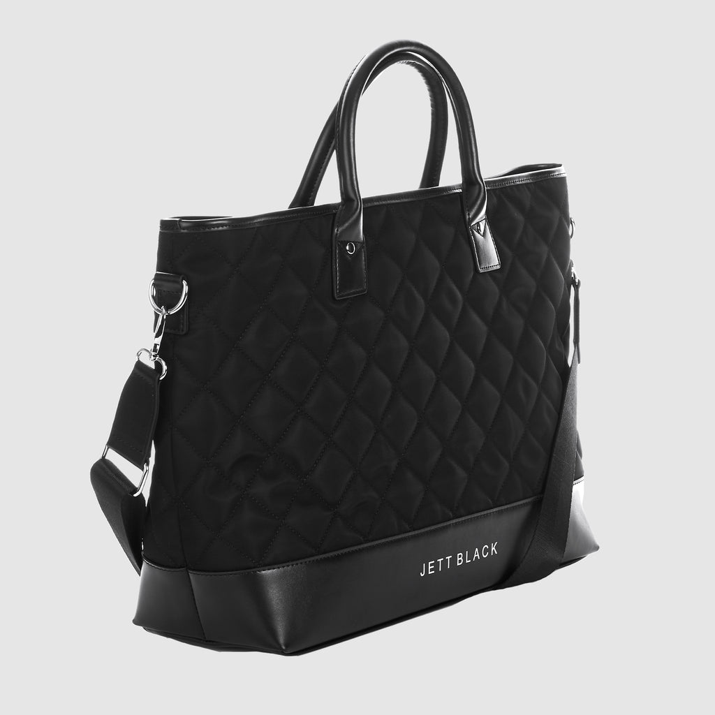 The Chicago Quilted Laptop Work Bag