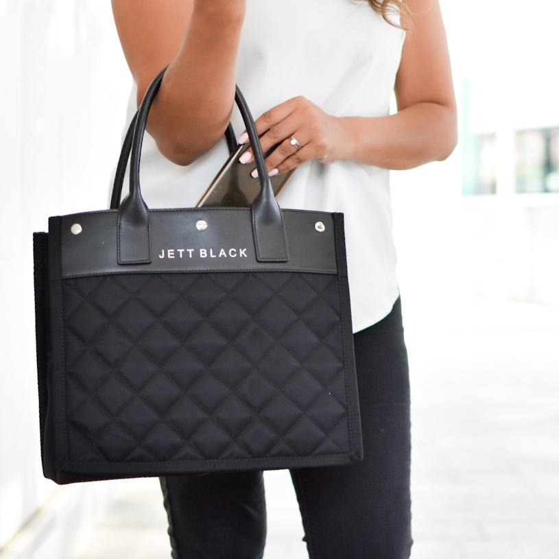 The Soho Medium Quilted Tote Bag