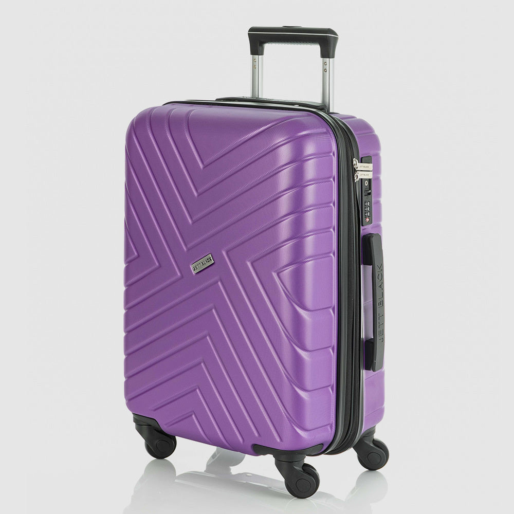 Violet Maze Series Carry On Small Suitcase