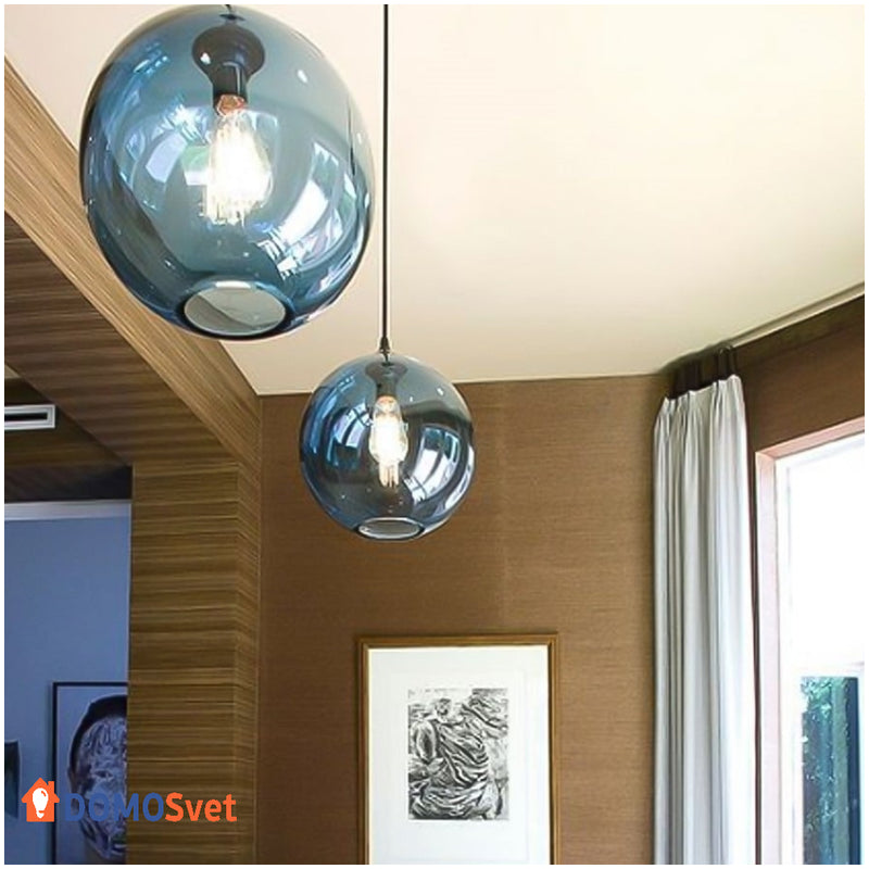 Подвес Loft Glass Blue Domosvet Design 21053-35810