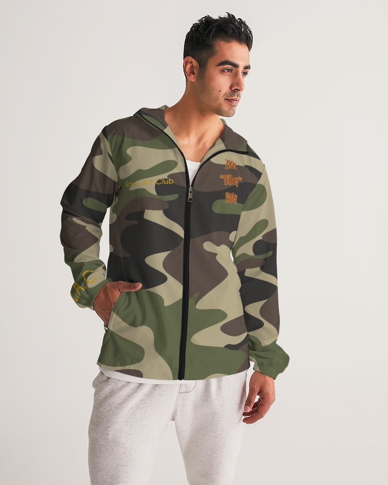 BatBoy Green Camo Windbreaker